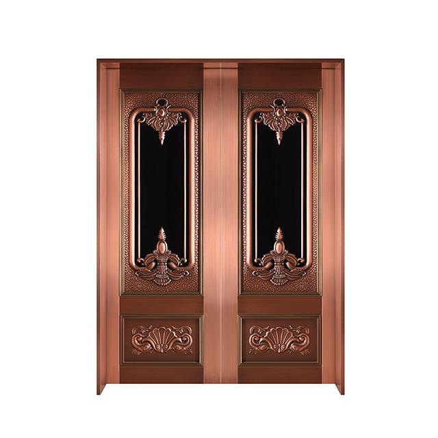 铜门玻璃门
